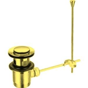 Донный клапан Cezares механический, золото (CZR-SA2-03)