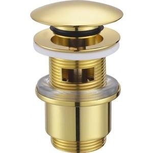 Донный клапан Cezares Click-clack золото (CZR-SAT5-03) цена и фото