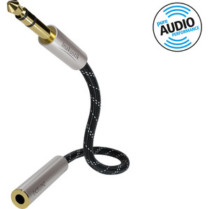 Кабель межблочный Inakustik Exzellenz Extension Audio Cable, 1,5m, 6.3mm jack6.3mm jack(F), 006046015