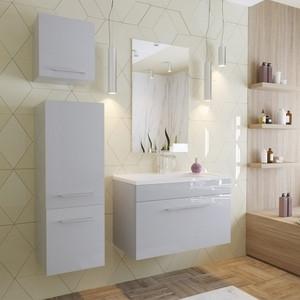 цены на Мебель для ванной Эстет Elin 80 белый в интернет-магазинах