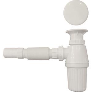 Сифон для раковины Serel с керамической накладкой (TP08) цена в Москве и Питере