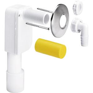 Сифон для стиральной машины Viega скрытый монтажа D 40/50 белый/нержавющая сталь (452452)