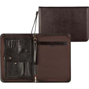 купить Папка Grand деловая из натуральной кожи коричневого цвета 01-118-0723 по цене 8593 рублей