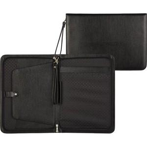Папка Grand деловая кожаная черная, 01-100-0713