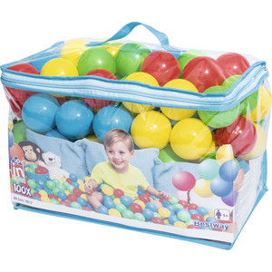 Пластиковые мячи Intex 52027 6,5 см (100 шт.)