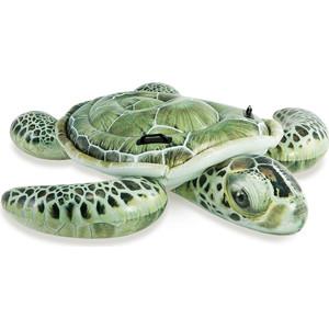 Надувной плотик Intex 57555 Черепаха с ручками 191х170см