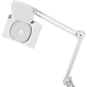 Настольная лампа REXANT Лампа-лупа на струбцине квадратная 5D 108 LED белая