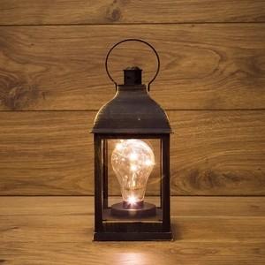 Neon-Night Декоративный фонарь с лампочкой бронзовый