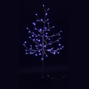 Neon-Night Дерево комнатное Сакура 1,2м ствол фольга 80 светодиодов синего цвета