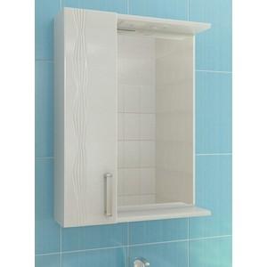 Зеркало-шкаф VIGO Atlantic №16 600Л с подсветкой, белый (2000170715955)