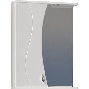 Зеркало-шкаф VIGO Faina №25 550Л с подсветкой, белый (2000138322522) зеркальный шкаф vigo mirella 80 с подсветкой белый