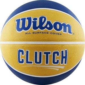 все цены на Мяч баскетбольный Wilson Clutch (WTB14199XB07) р. 7 онлайн