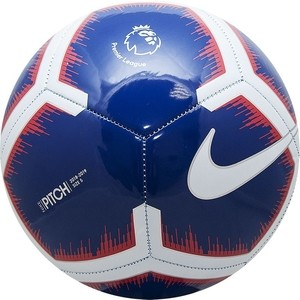 Мяч футбольный Nike Pitch PL SC3597-455 р. 5 мяч футбольный umbro neo classic р 5 20594u 157