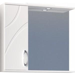Зеркало-шкаф VIGO Mirella №36 800 белый цена