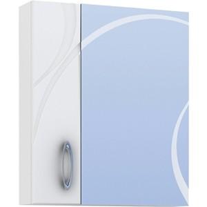 Зеркальный шкаф VIGO Mirella №36 700 белый цена 2017