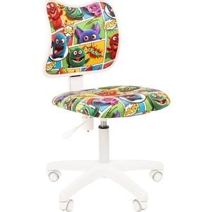Кресло Chairman Kids 102 ткань монстры