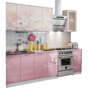 Кухня ПВХ с фотопечатью Миф Вишневый цвет 2,0