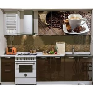 Кухня ПВХ с фотопечатью Миф Кофе 2,0