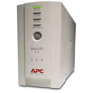 ИБП APC Back-UPS CS 350VA/210W (BK350EI) ибп apc back ups bk350ei